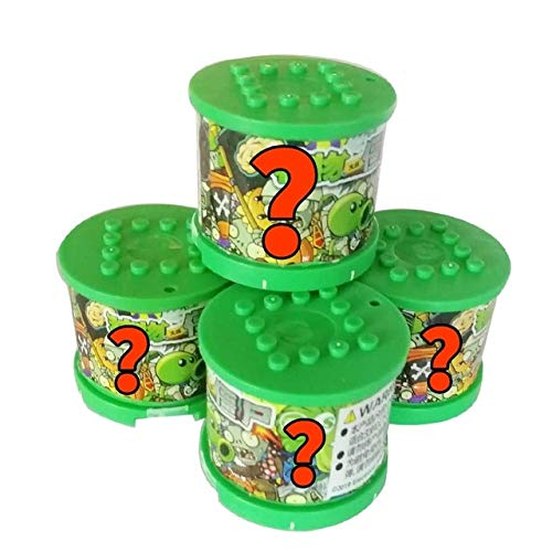 RAFGL Plants Vs Zombies Figures Building Blocks PVZ Action Figures Role Play Battles Learning Toys for Children Collection for Adults Must Have Toys 6 Year Old Girl Gifts Girl S Favourite by RAFGL