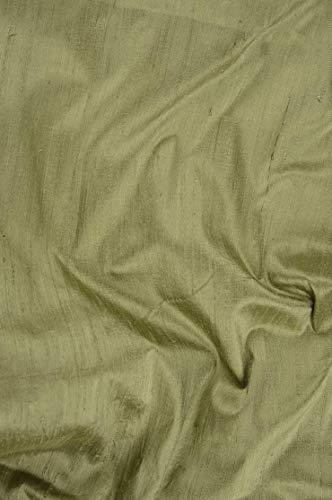 Peapod Dupion Silk Fabric