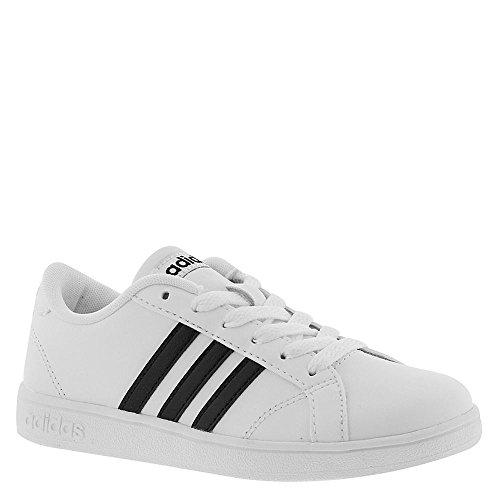 big sale 4a34a ff420 Galleon - Adidas Performance Unisex-Kids Baseline Sneaker, WhiteBlackWhite,  5 M US Big Kid