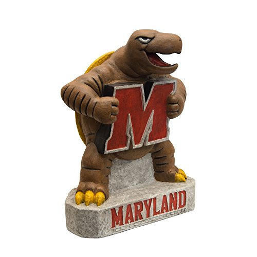 Maryland Terps NCAA ''Terp'' College Mascot 17in Full Color Statue by Stone Mascots