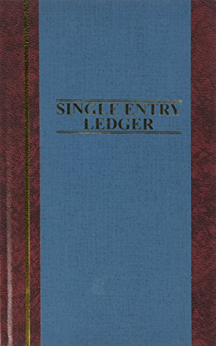 Ring Jones Wilson Ledger (Wilson Jones S300 Line Accounting Journal, Single Entry Ledger, 11.75 x 7.25 Inches, 150 Pages (WS300-15SELA))