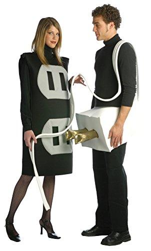 Plug And Socket Costume Plus Size (Plug and Socket Set Costume Set - Plus Size - Chest Size 50-52)