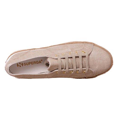 Superga 2730 Linrbrropew Femmes, Toile, Sneaker Low