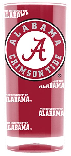 NCAA Alabama Crimson Tide 16oz Insulated Acrylic Square -