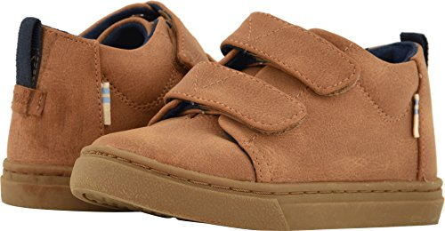TOMS Kids  Baby Boy's Lenny Mid (Infant/Toddler/Little Kid) Light Twig Synthetic Suede 7 M US Toddler