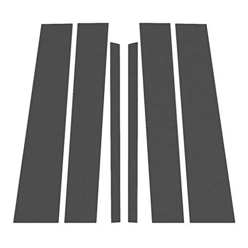 Ferreus Industries Matte Flat Black Pillar Post Trim Cover fits: 2004-2014 Nissan Titan Armada PIL-120-MB-02