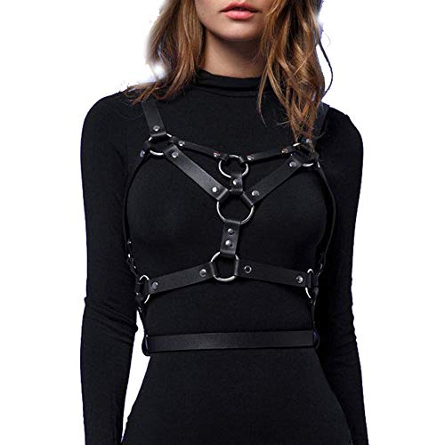 LINE Leather Straps Harness...