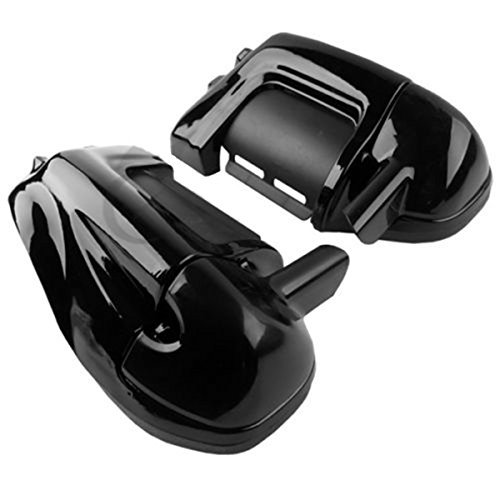 LOWER VENTED LEG FAIRINGS GLOVE BOX For Harley Road King Electra Glide Touring (1994 Chevy Truck Speaker Box)