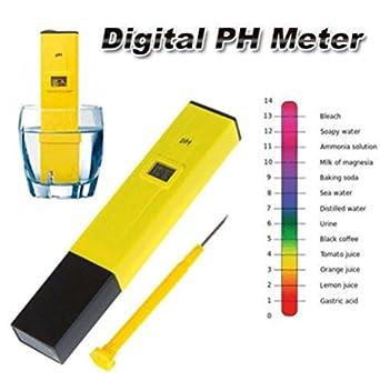Digital PH Meter Tester Hydroponic Pool Water Aquarium Pocket Portable Wine New: Amazon.com: Industrial & Scientific