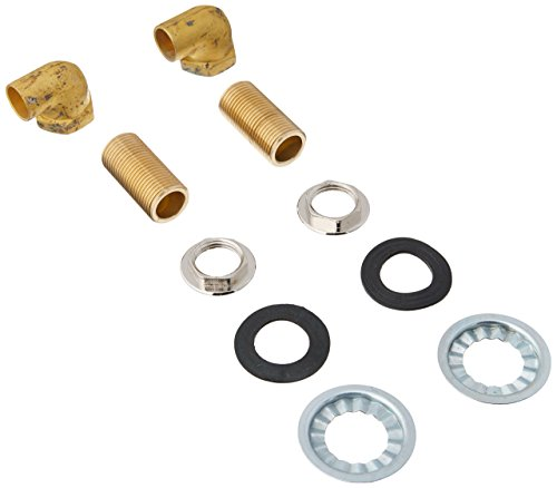Elkay LKMK462 90 Degree MOUNTING Kitchen for BACKSPLASH Faucet, Brass (Backsplash Brass)