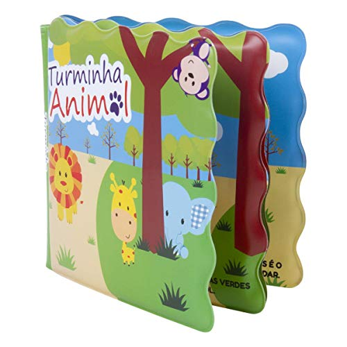 Livro De Banho Turminha Animal Lb1802-1 Unik