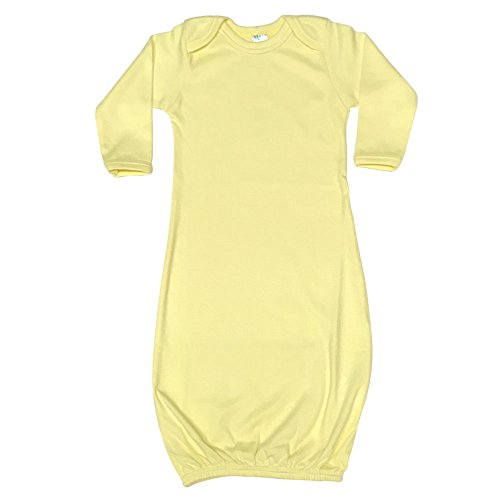 (Bay Long Sleeve Sleeper Gown (0-3M, Yellow))