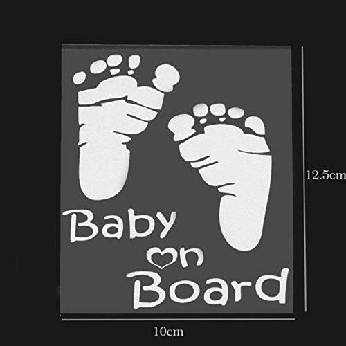 etiqueta engomada popular del veh/ículo de la ventana de los gr/áficos del coche del vinilo del beb/é a bordo auto de la decoraci/ón de la etiqueta Etiqueta engomada del coche del beb/é