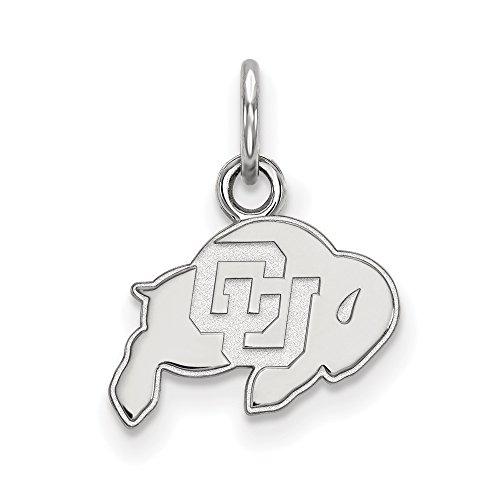 Sterling Silver LogoArt University of Colorado XS Pendant