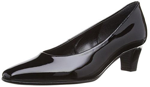 Gabor Shoes 25.180, Zapatos, Mujer Negro (Black Patent)