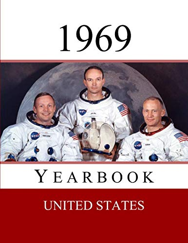 1969 US Yearbook: Original book full of facts and figures from 1969 - Unique birthday gift / present idea. (US Yearbooks)]()
