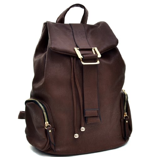 dasein-faux-leather-convertible-drawstring-fashion-backpack-purse