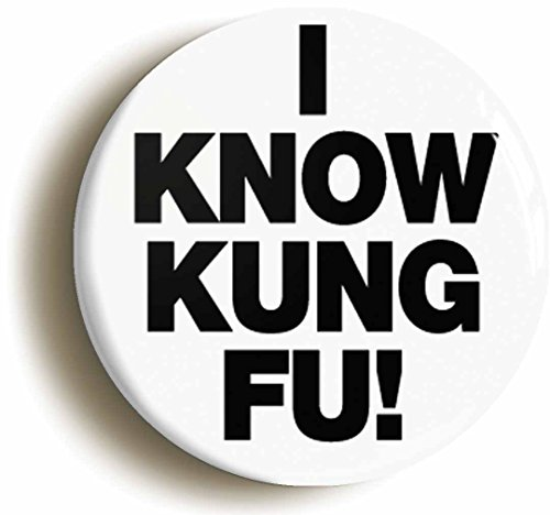 I-Know-Kung-Fu-Funny-Button-Pin-Size-Is-1inch-Diameter