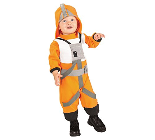 2T-3T Star Wars X-Wing Fighter Pilot Toddler Costume Dress up Play Halloween