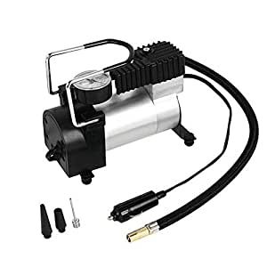 Car single cylinder Heavy Duty Portable 12V 100PSI Car Tyre Auto Tire Inflator Pump Air Compressor