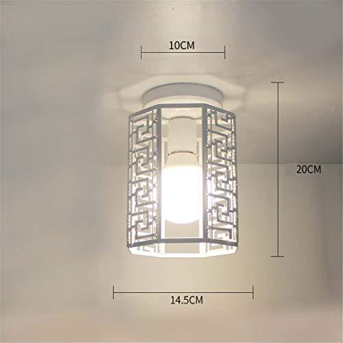 Plafonniers Lampe en fer Base en métal Base de lit Lumière LED Salon Loft intérieur éclairage Surface Monté Lampe Oiseau En Métal 5