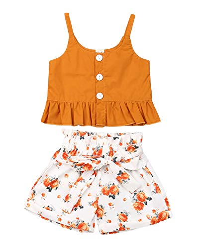 Girls Cloting - VISGOGO Toddler Baby Girls Outfits Clothes