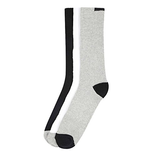 Vettorio Fratini by Shoppers Stop Mens Solid Crew Socks – Pack Of 3 – Assorted