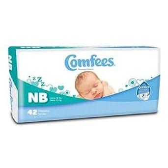 Alimed Comfees pañales de bebé recién nacido (Pack de 42): Amazon ...