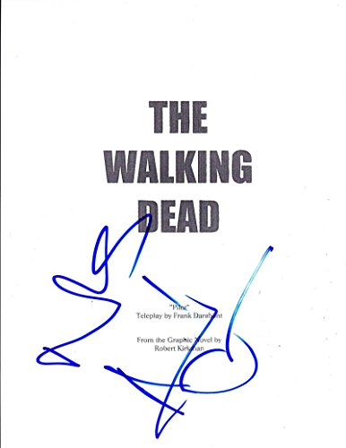 ANDREW LINCOLN NORMAN REEDUS SIGNED WALKING DEAD PILOT EPISODE 61 PAGE SCRIPT
