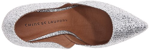 Chinese Laundry Womens Stilo Dorsay Pompe Paillettes Dargent