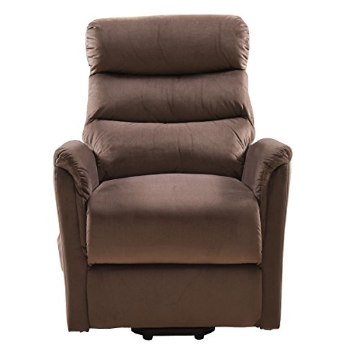 COLIBROX--Electric Lift Chair Recliner Reclining Chair Remote Living Room Furniture New. lift recliners for elderly. lift chair recliner medicare. electric recliner chair. amazon power recliners. by COLIBROX (Image #2)