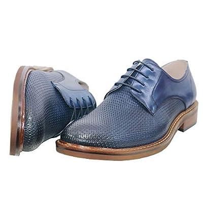 Navy Blue Men/'s Lace up Classic Oxford Dress shoes