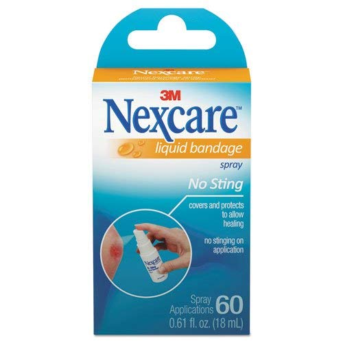 ( 3M PERSONAL AND HEALTH CARE 78498 Nexcare No Sting Liquid Bandage Spray - 0.6... )