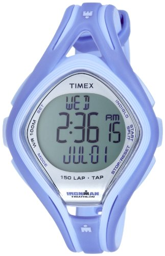 Timex T5K287 Men's IRONMAN 150-Lap TAP Screen Sleek (150 Lap Sleek Watch)