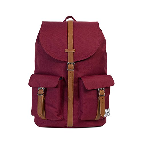 Herschel Supply Co. Dawson Backpack, Windsor Wine Tan Synthetic Leather,One Size