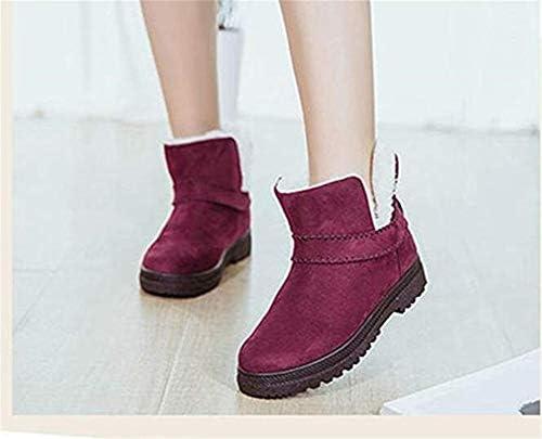 LHY Stivali di Pelliccia Foderato per Ragazze, Peluche Boots