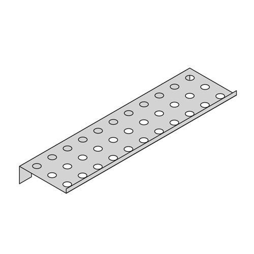 Inter Dyne DS-12 Drain Shelf for Pegboard Drying Racks, 12'' Length