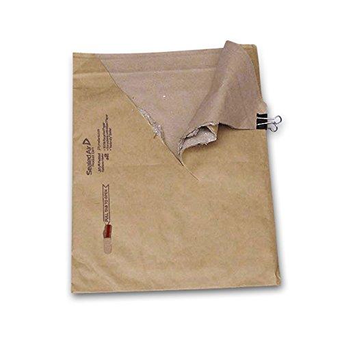 Paper Self-Seal Padded Bags #2 by Jiffy | Width: 8 1/2
