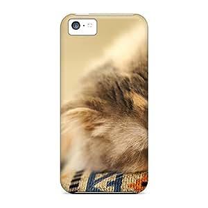 Excellent Design Cat Sleeping Phone Cases For Iphone 5c Premium Cases