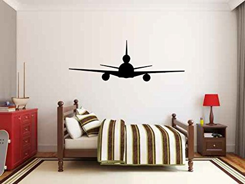 McDonnell Douglas KC-10 Extender Military Airplane Silhouette Vinyl Wall Decal Sticker