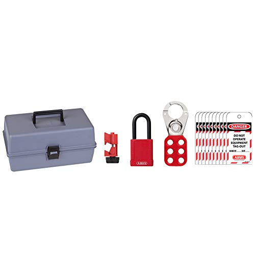 ABUS K945 Safety Lockout Tagout Operator Safety Toolbox Kit ()