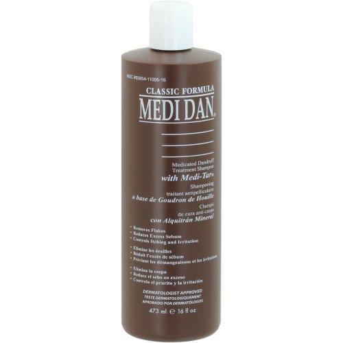Medi-Dan Classic Medicated Dandruff Treatment Shampoo, 16 fl oz