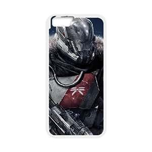 iPhone 6 4.7 Caja del teléfono de la pulgada del teléfono celular Funda Blanca Destino A5Z6YV Funda Volver personalizada