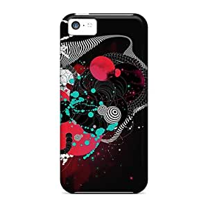 Shock Absorbent Cell-phone Hard Cover For Iphone 5c With Provide Private Custom Stylish Rise Against Skin PamelaSmith