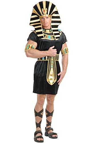 Charades Men's King TUT with Black/Turquoise, -