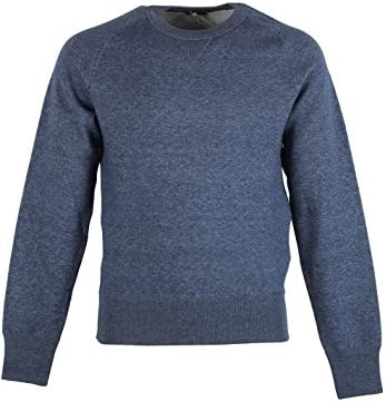 CL Tom Ford Blue Crew Neck Jersey Sweater Size 48 38R