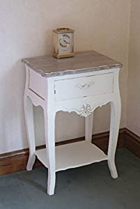 Stylish Casamore Devon 1 Drawer Lamp Table Bedside Table