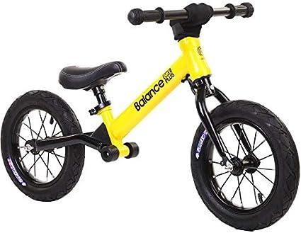 TOYSBBS Bicicleta Kawasaki Balance sin Pedales para Niños de 3 Años de Fácil Manejo y Ruedas de Goma Eva