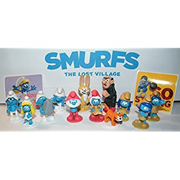Smurfs Stickers x 5 Favours Smurfs Movie Birthday Party Loot Bags Ideas