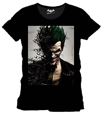 Camiseta Batman Arkham Origins Joker talla XL
